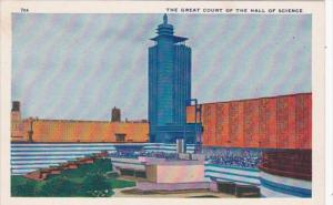 The Great Court Of The Hall Of Science Chicago World's Fair 1933