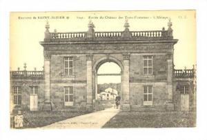 Entree Du Chateau Des Trois-Fontaines, Saint-Dizier (Haute-Marne), France, 19...