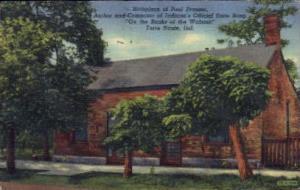 Birthpalce pf Paul Dresser Terre Haute IN 1947