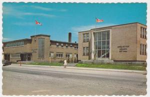 City Hall and Federal Building, Rouyn-Noranda, Quebec, Canada, 40-60's