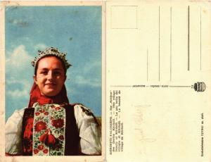 CPA AK folklore Körösföi faluszépe ROMANIA (504565)