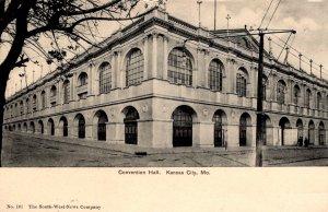 Kansas City, Missouri - The Convention Hall - c1905