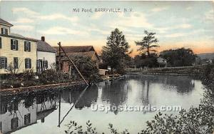 Mill Pond Barryville NY 1913