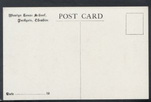Cheshire Postcard - Mostyn House School, Parkgate   T5951