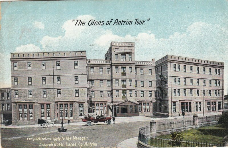 LARNE, Northern Ireland, 1900-1910's; Laharna Hotel