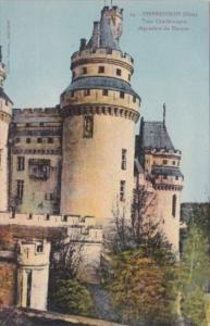 France Pierrefonds Tour Charlemagne dependant du Donjon
