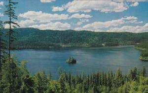 Canim Lake , B.C. , East of the Cariboo highway , Canada , 50-60s