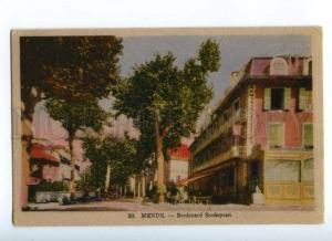 172330 FRANCE MENDE Boulevard Soubeyran Vintage postcard
