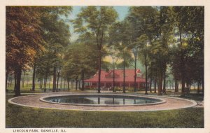 DANVILLE, Illinois, PU-1926; Lincoln Park