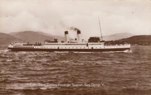 RP; New Turbine Passenger Steamer, King George V, 10-30s
