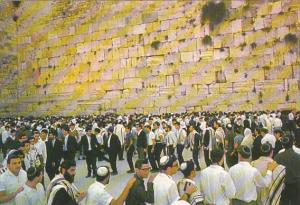Israel Liberation Day Of Jerusalem Congregation At The Wailing Wall