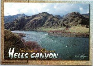 postcard Idaho - Snake River Hells Canyon