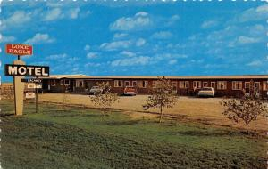 HERBERT, Saskatchewan Canada   LONE EAGLE MOTEL   Roadside Chrome Postcard