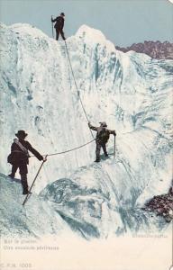 Mountain Climbing Sur le Galcier Gletscherpartie