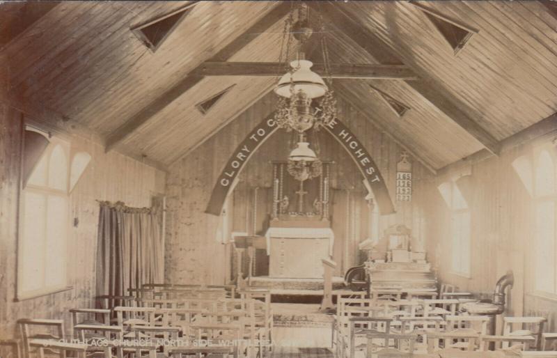 RP: WHITTLESEA , England , 1905 ; St Guthlacs Church , Interior