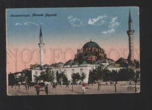 076987 TURKEY Constantinople Mosque Bayazid Vintage PC