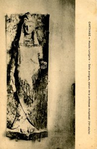 Africa - Tunisia, Carthage. Statue of Princess Arisatbaal