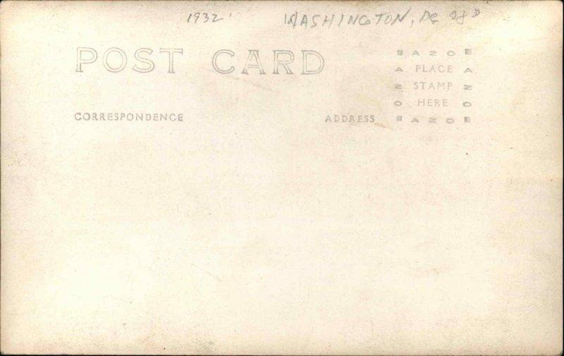 Washington DC Bonus Army BEF WWII Vets Great Depression RPPC TOLEDO OH