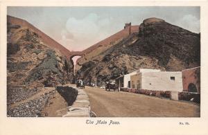 ADEN ARABIA ( NOW YEMEN ) THE MAIN PASS PHOTO POSTCARD c1929
