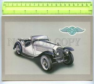 255506 LATVIA Tseplevich Retro car Morgan 4+4 postcard
