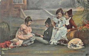 Raphael Tuck & Sons Little Darlings Little Sweethearts #4718 Postcard