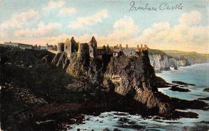 Dunluce Castle Ruins Chateau Panorama Cliffs
