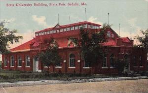 Missouri Sedalia State University Building State Fair