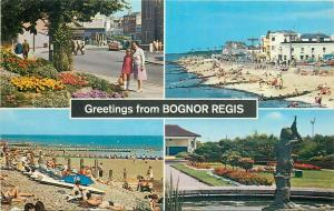 Greetings from Bognor Regis postcard