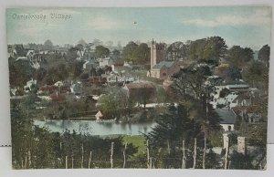 Carisbrooke Village UK Vintage Postcard