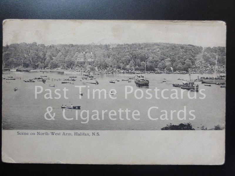 CANADA: Scene on North West Arm, Halifax N.S. c1905