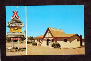 NM Roadrunner KOA Campground Camping Camp Ground Deming New Mexico Postcard