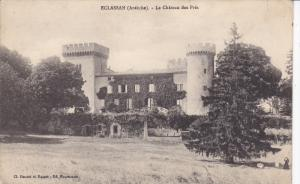 ECLASSAN (Ardeche) .- Le Chateau des Pres. , France , PU-1911