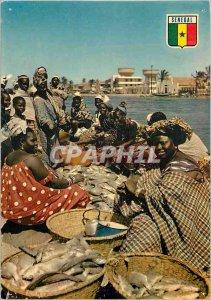 Modern Postcard Republic of Senegal Passion Saint Louis