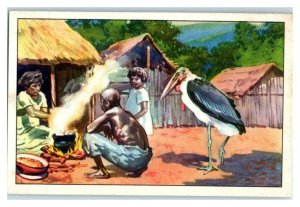 Durra, Africa, Nourishing Food, Echte Wagner German Trade Card *VT31U