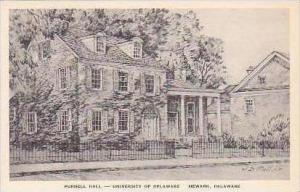 Delaware Newark Purnell Hall University of Delaware Albertype