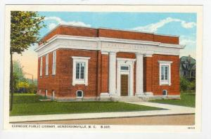 Carnegie Public Library (Exterior), Hendersonville, North Carolina, 1900-1910s