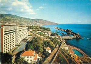 Portugal Postcard Madeira Funchal eastern panoramic view
