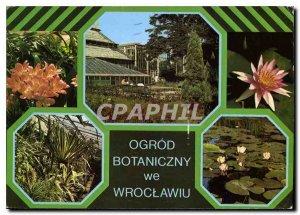Postcard Modern Ogrod Botaniczny we Wroclawiu