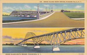 Grand Island North Bridge, NIAGARA FALLS, Grand Island South Bridge, TONAWAND...