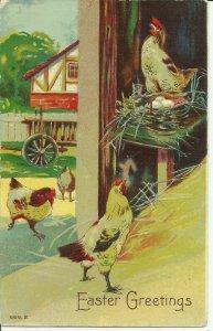Easter Greetings    1909