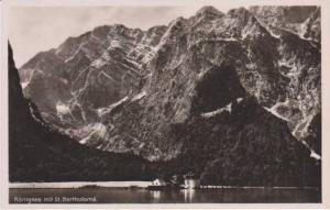 RP: St. Bartholoma Church, Lake Konigsee, Berchtesgaden, Bavaria Germany