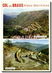 Postcard Modern Col de Braus Alpes Maritimes