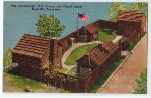 Fort Nashborough, Nashville TN