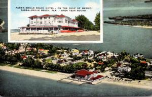 Florida Pass-A-Grille Beach Hotel 1958