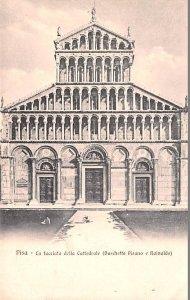 Pisa La facciata della Cattedrale Italy Unused