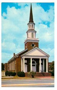Exterior, First Baptist Church,  Myrtle Beach,  South Carolina,  40-60s