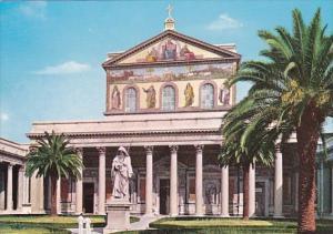 Italy Rome Roma Basilica di S Paolo