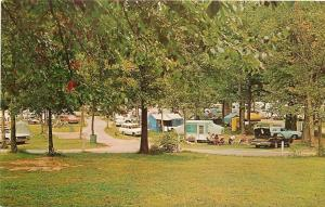 Bowling Green KY~Shady Campgrounds~Beech Bend Park~Tents~Campers~1960s Cars