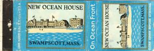 Early Swampscott, Mass/MA Matchcover, New Ocean House