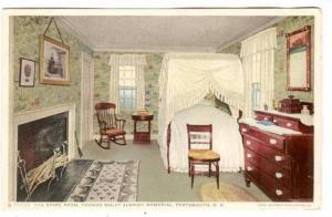 Interior, Spare Room, Thomas Bailey Aldrich Memorial, Portsmouth, New Hampshi...